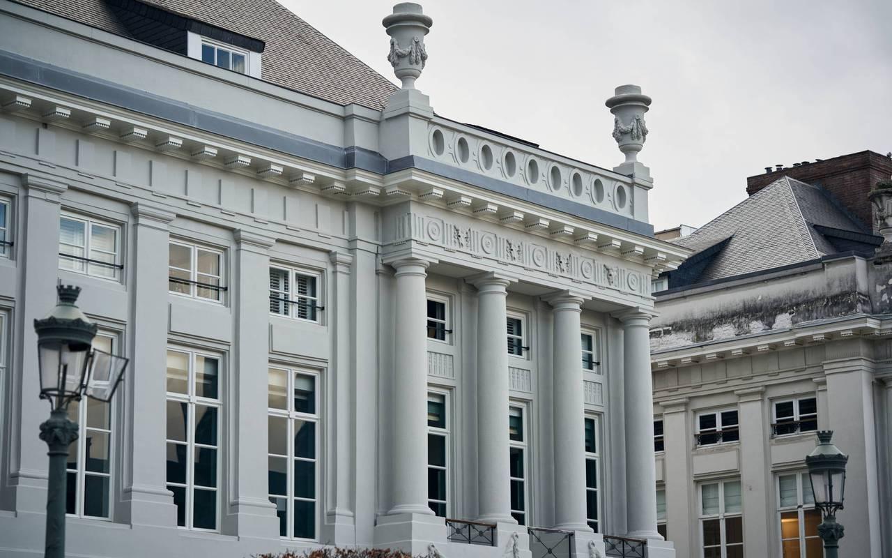 facade, 5-star luxury hotel, Juliana hotel Brussels