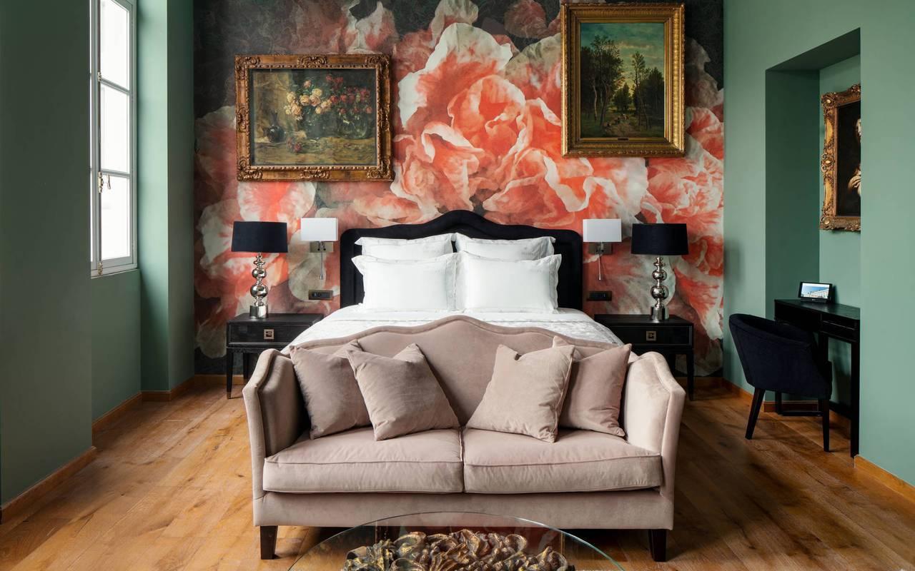 Elegant room, 5-star luxury hotel, Juliana hotel Brussels