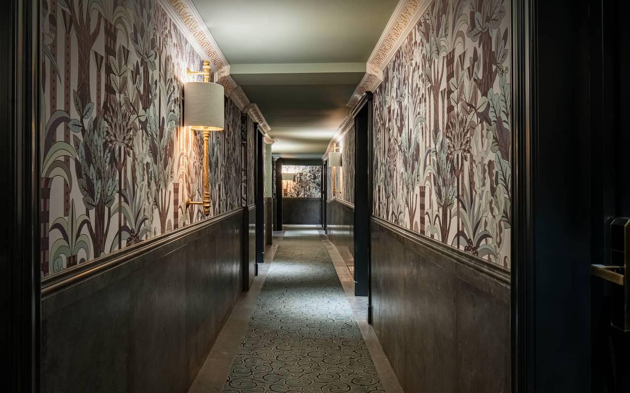 Couloir, hôtel de luxe 5 étoiles Bruxelles, Juliana Hôtel Brussels
