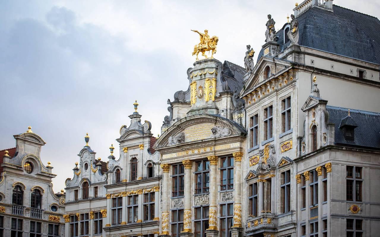 Grand Place, hôtel avec piscine Bruxelles, Juliana Hôtel Brussels